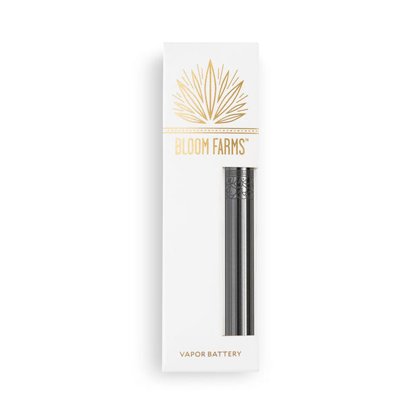 CBD Vape Pens | Bloom Farms CBD - Specialty Vapor Battery Silver