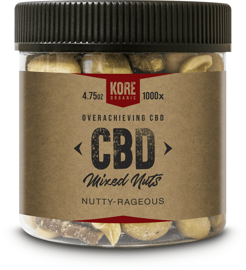 Kore Organic Nutty Rageous Jar 8oz/ 4.75oz - CBD Edibles by Kore Organic