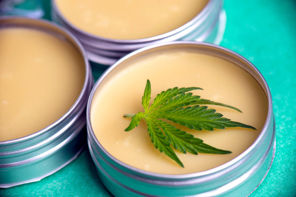 CBD salves and balms can help relax muscles.