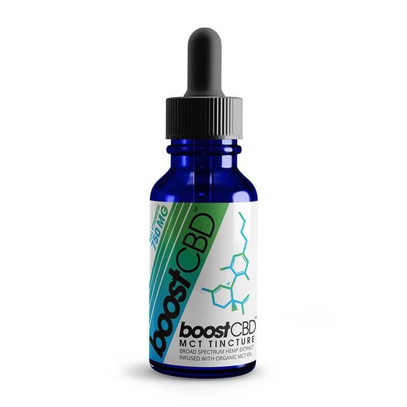 BoostCBD - CBD Tincture - Unflavored - 250mg-1500mg