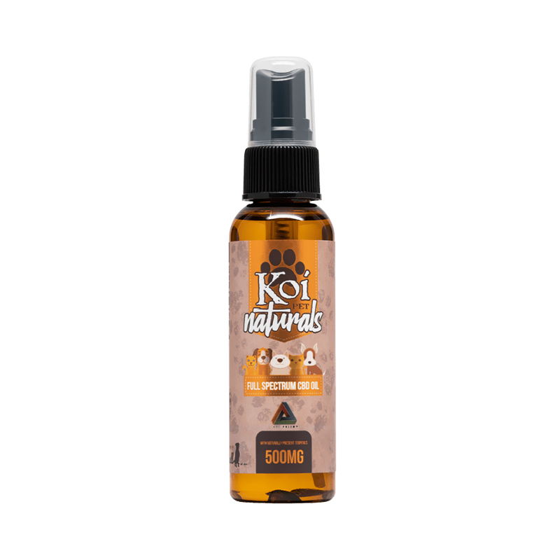 Koi CBD - CBD Pet Topical - Naturals Spray - 500mg