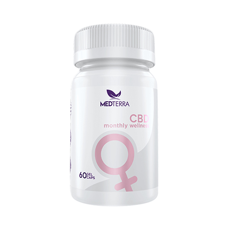 Medterra - CBD Tablet - Woman's Monthly Wellness - 25mg