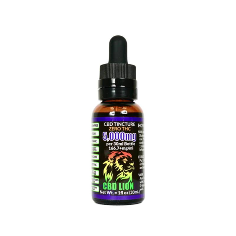 CBD Lion - CBD Tincture Oil - 250mg-5000mg
