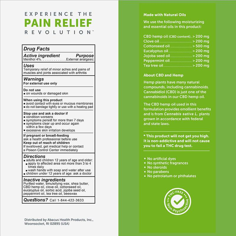CBD Medic - CBD Topical - Arthritis Aches & Pain Relief Cream
