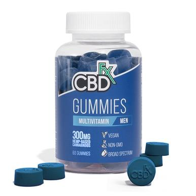 CBDfx - CBD Edible - Men's Multivitamin Gummies - 300mg