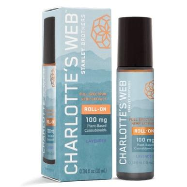 Charlottes Web - CBD Topical - Full Spectrum Lavender Roll-On - 100mg