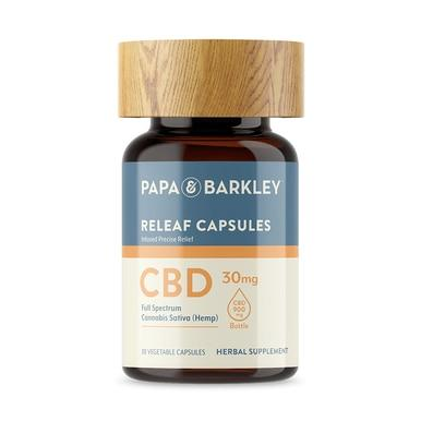Papa & Barkley - CBD Capsules - Full Spectrum Releaf Caps - 900mg