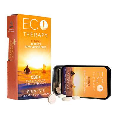 ECO Therapy CBD - CBD Edible - Revive Mints - 10mg