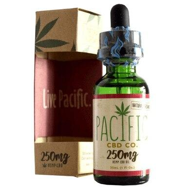 Pacific CBD - CBD Tincture - Strawberry Drops - 125mg-2000mg