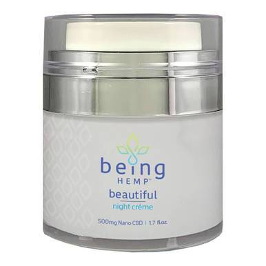 being HEMP - CBD Topical - Night Creme - 500mg