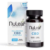 NuLeaf Naturals - CBD Softgels - Full Spectrum Hemp - 300mg-1800mg