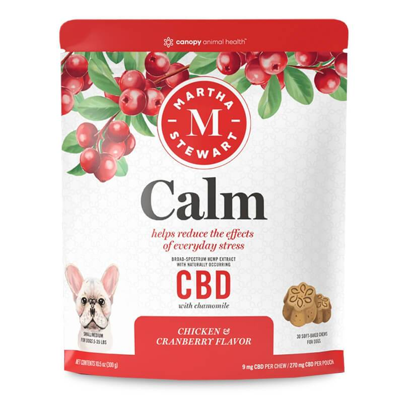 Martha Stewart - CBD Pet Treats - Soft-Baked Calm Dog Chews - 9mg-26mg