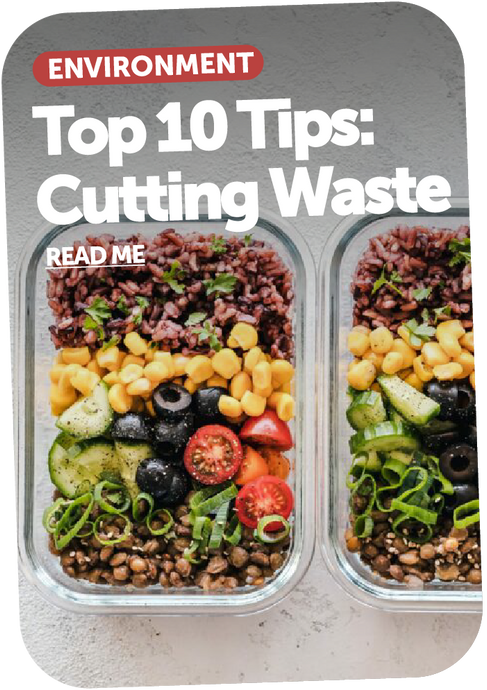 Our Top 10 Tips on Cutting Waste