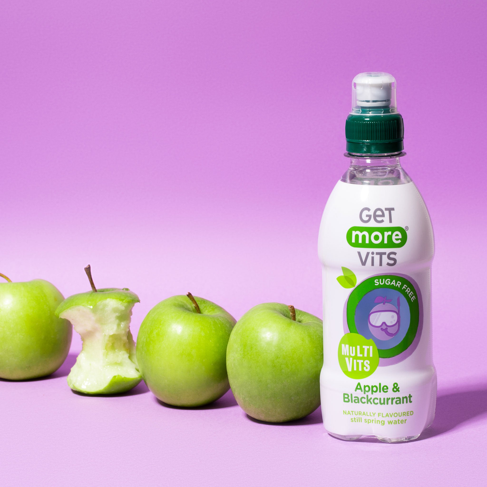 Multivits Apple & Blackcurrant for Kids 12x330ml