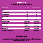 Load image into Gallery viewer, B Vitamins Apple & Raspberry 12x500ml
