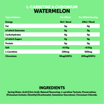 Load image into Gallery viewer, L-Carnitine & Chromium Watermelon 12x500ml