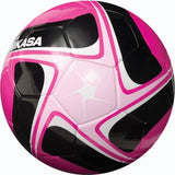 Competitive Pink/Black/White Soccer Ball -  (Size 4)