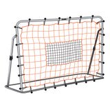 6ft x 4ft Adjustable Steel Portable Heavy Duty Soccerball Rebounder