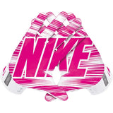 Nike Adult Mens's Size Vapor Jet 3.0 Pink Receiver Football Gloves