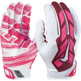 Nike Youth Kids Boys Vapor Jet 3.0 Pink Football Receiver Catching Gloves