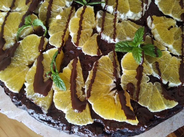 Chocolate Torte with Seasonal Fruit