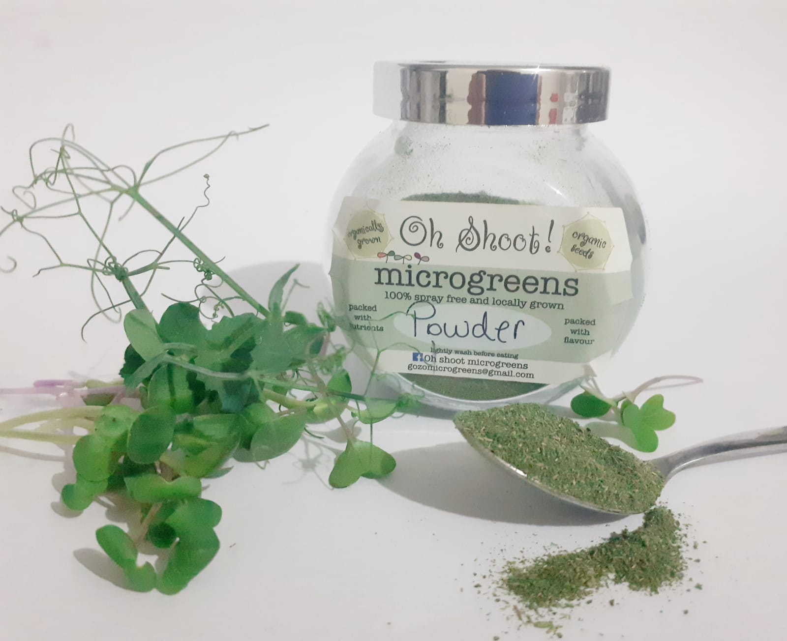 100% Microgreen Powder (*)