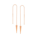 14K Rose Gold Jagger Threader Earring
