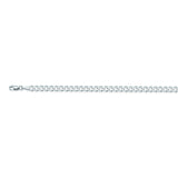 14K White Gold 4.4 Curb Chain in 18 inch, 20 inch, 22 inch, 24 inch, 30 inch, & 8 inch