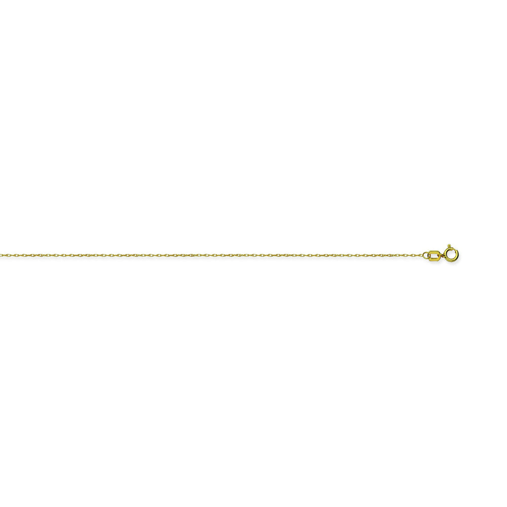 10K Yellow Gold 0.65 Rope Chain in 16 inch, 18 inch, & 20 inch