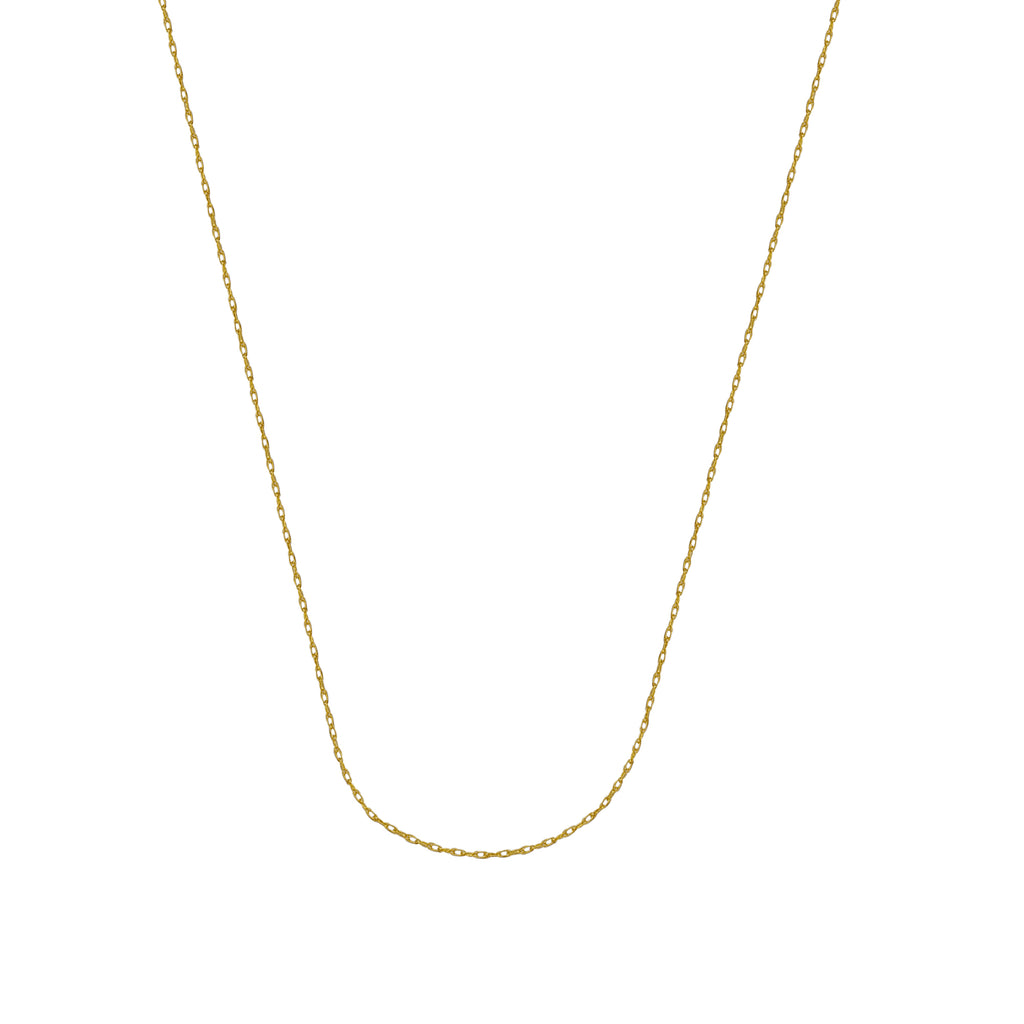 10K Yellow Gold 0.85 Rope Chain in 16 inch, 18 inch, & 20 inch