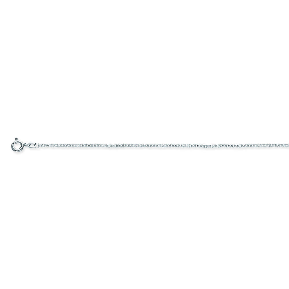 925 Sterling Silver 1.2 Rope Chain in 16 inch, & 18 inch