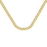 10K Yellow Gold 8.5 Curb Chain in 9 inch, 22 inch, 24 inch, 26 inch, & 30 inch