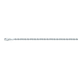14K White Gold 2.3 Diamond Cut Rope Chain in 18 inch, 20 inch, 22 inch, & 24 inch