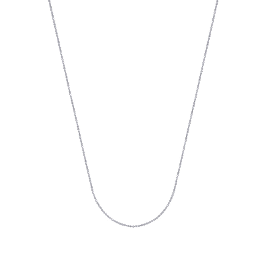 925 Sterling Silver 1.5 Cable Chain in 16 inch, 18 inch, 20 inch, 24 inch, & 30 inch