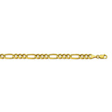 14K Yellow Gold 5.8 Figaro Chain in 8.5 inch, 20 inch, 22 inch, & 24 inch