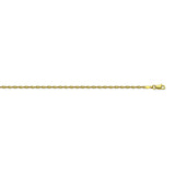 14K Yellow Gold 1.35 Dorica Chain in 16 inch, 18 inch, 20 inch, & 24 inch