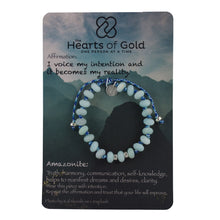 Load image into Gallery viewer, Amazonite Bracelet. TRUTH - CLARITY