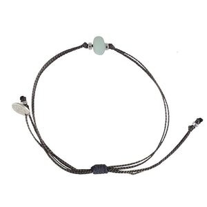 Amazonite single matte bead Bracelet