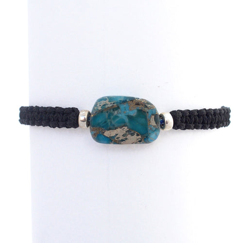Imperial Jasper Limited Edition Bracelet. STEADY HEALING - DISCIPLINE