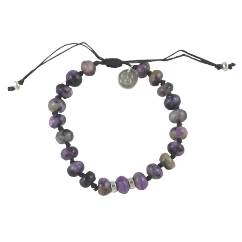 Charoite Bracelet. CLEANSING - PURIFYING