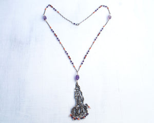 Healing love talisman necklace
