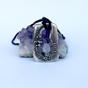 Moonstone Buddha Necklace - INTUITION - SELF-DISCOVERY - INSIGHT