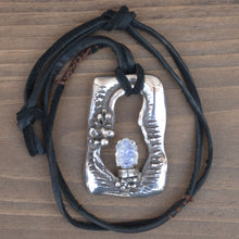 Load image into Gallery viewer, Moonstone Buddha Necklace - INTUITION - SELF-DISCOVERY - INSIGHT
