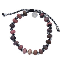 Load image into Gallery viewer, Rhodonite Bracelet. COMPASSION - LOVE - GENEROSITY