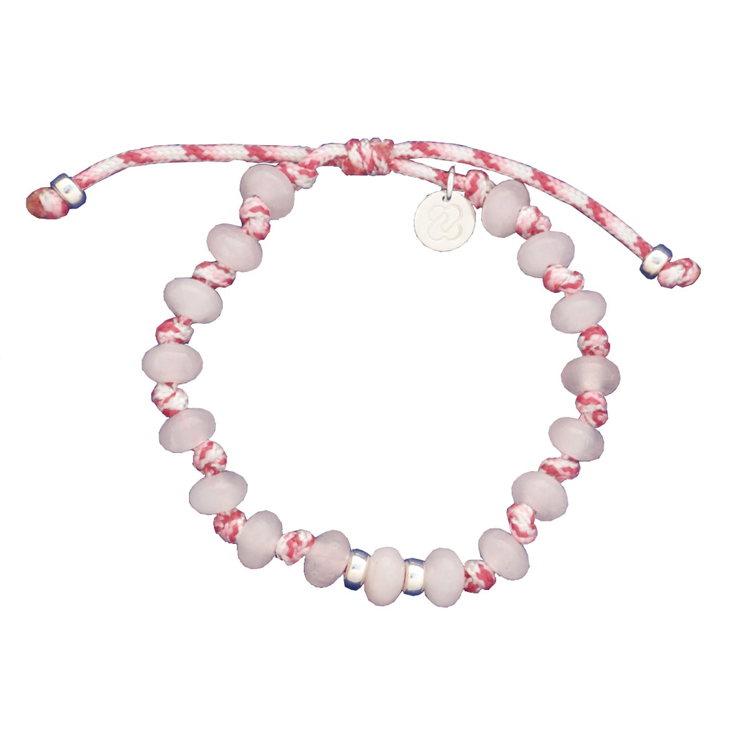Rose Quartz Bracelet. LOVE - EMOTIONAL HEALING
