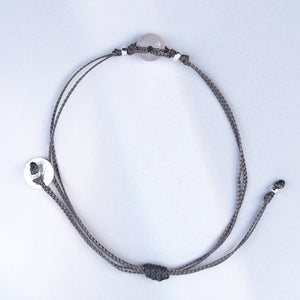 White Agate Bracelet. HARMONY - STABILITY - MENTAL PEACE