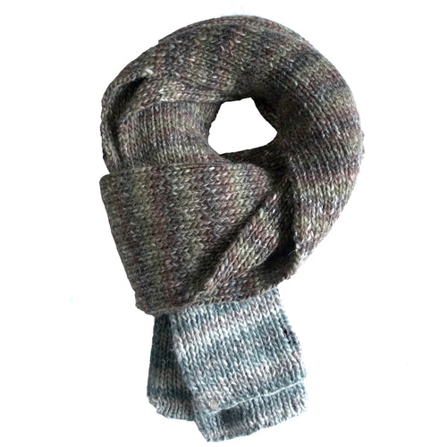 Wool Hand Loomed Scarf