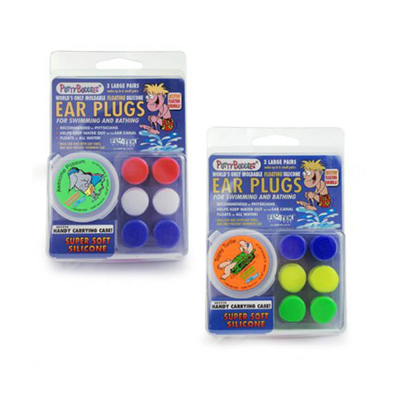 Putty Buddies Earplugs - Floatable (3 pairs)