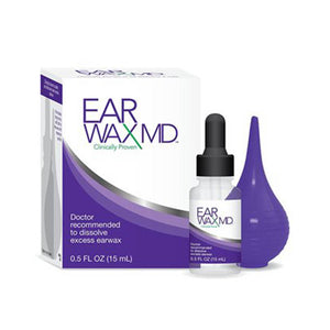 Earwax MD Take-Home Kit with Bottle & Bulb Syringe