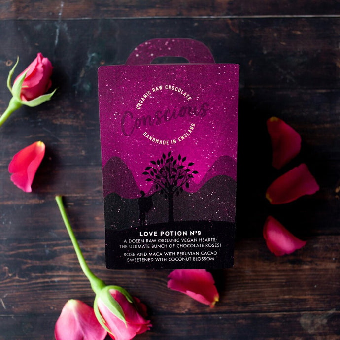 **NEW** Conscious Chocolate Love Gift Box Organic